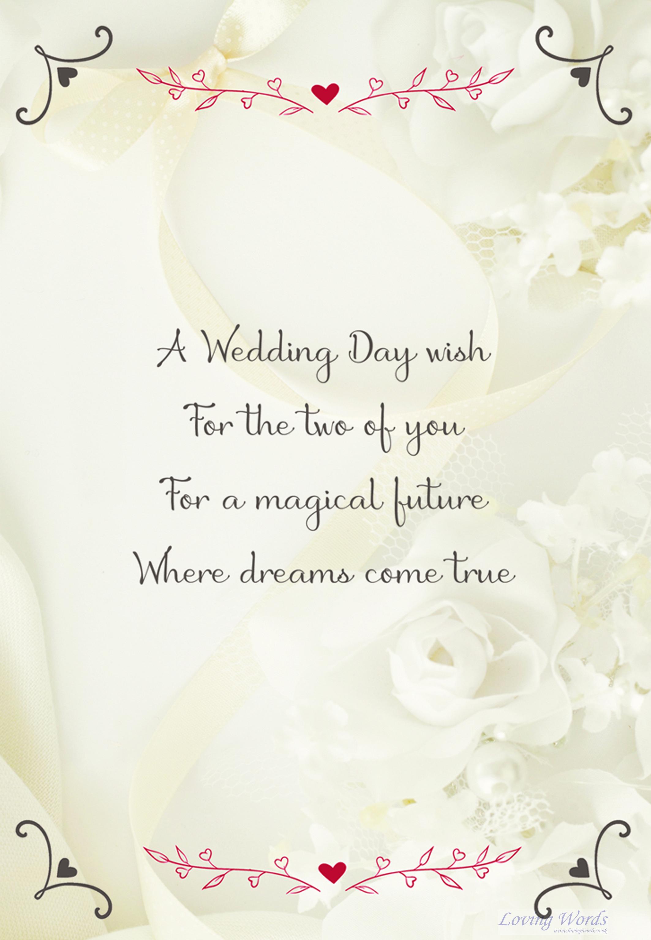 wedding day female couple  greeting cardsloving words