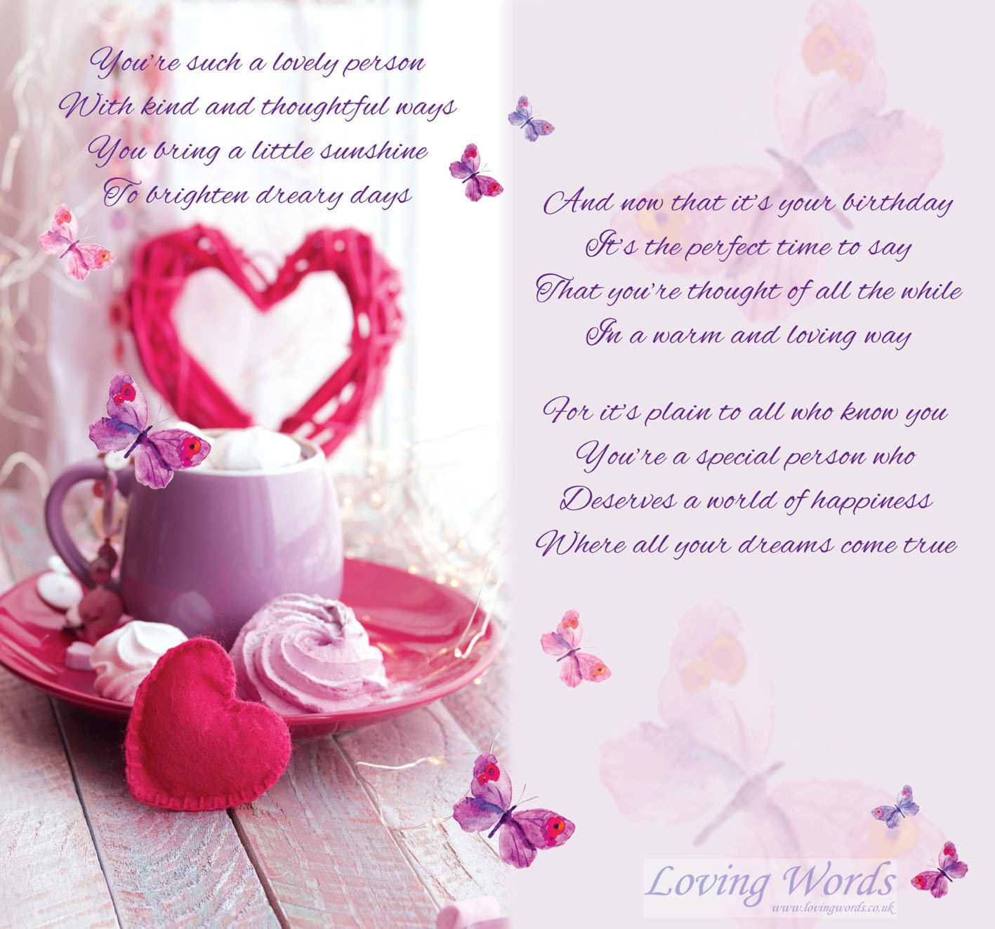 Happy Birthday Sister In Law Greeting Cards By Loving Words