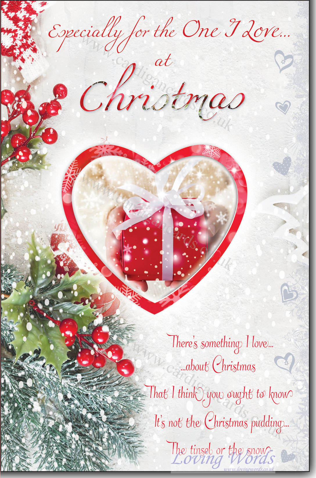 One I Love Christmas | Greeting Cards by Loving Words