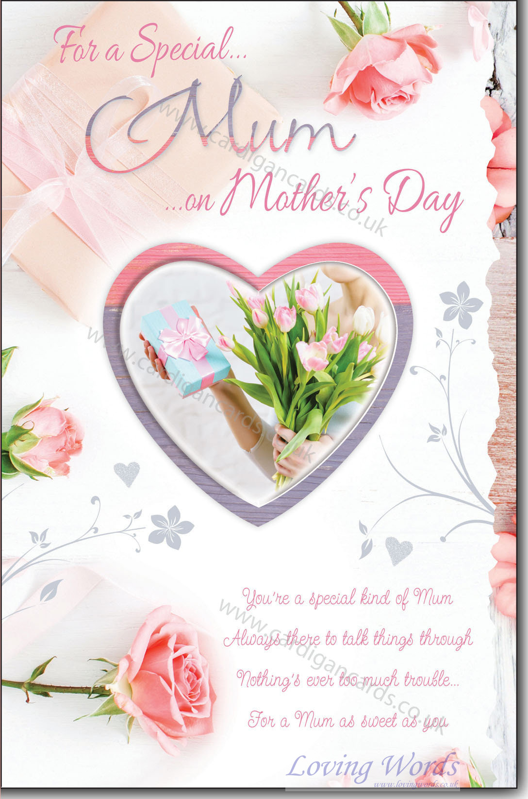 Special mum mothers day greeting cards by loving words personalised greeting cards m4hsunfo