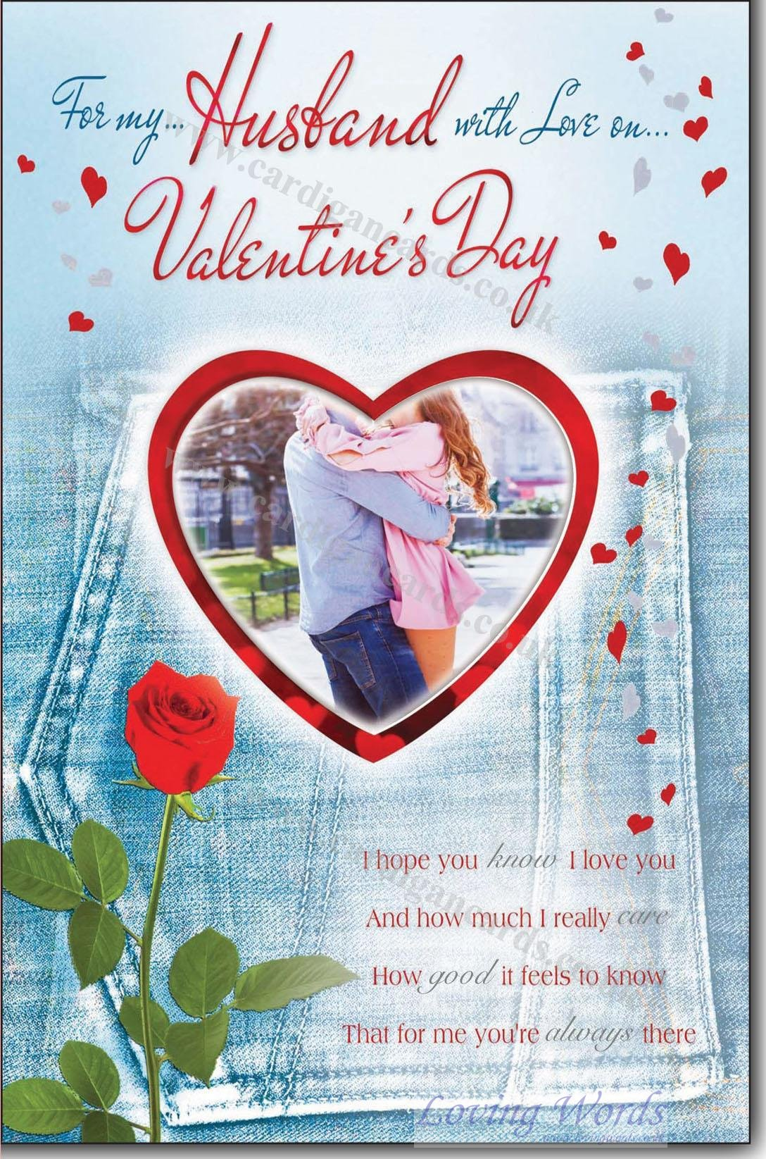 Husband On Valentines Day Greeting Cards By Loving Words