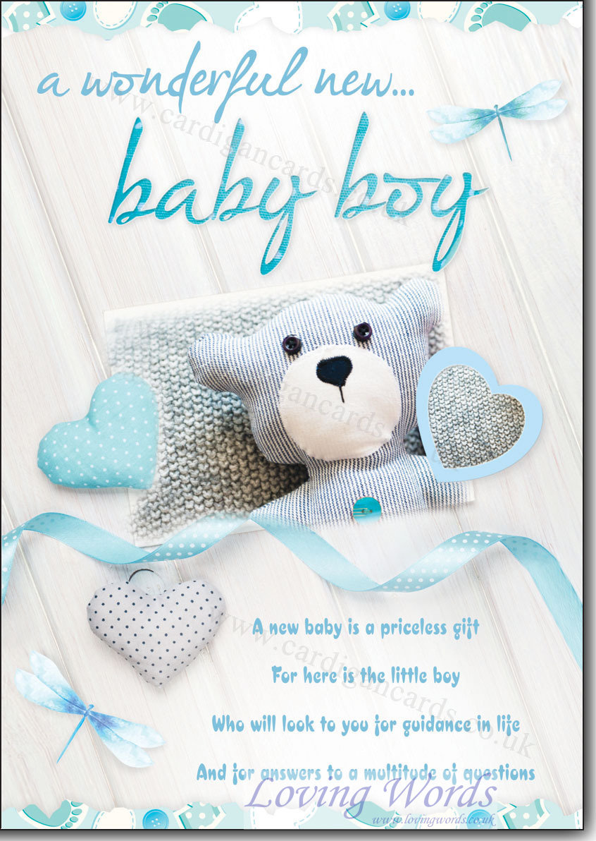 words for new baby boy