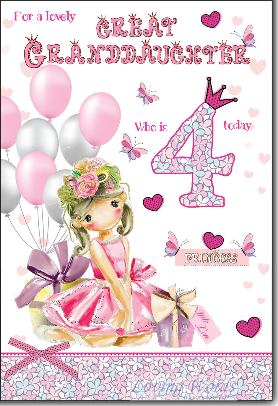 For Great Granddaughter 30th Birthday   Greeting Cards by Loving ...
