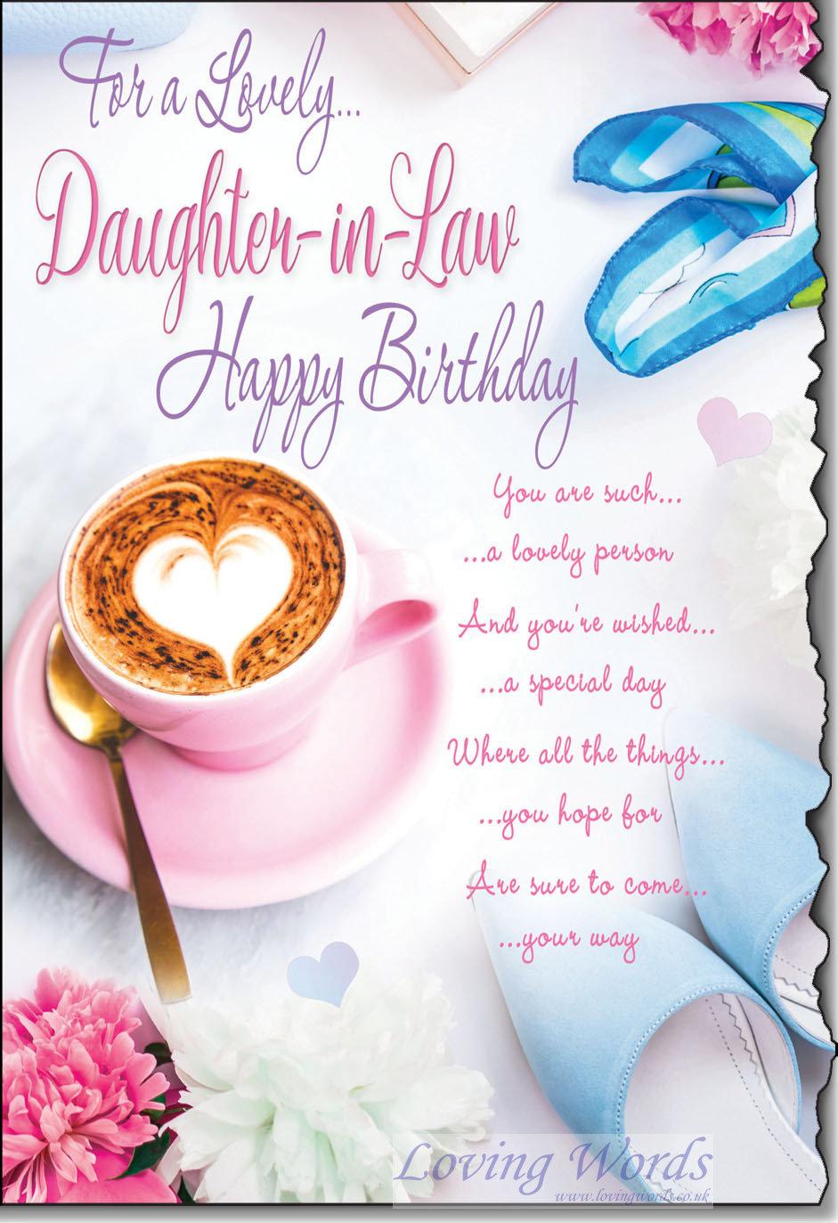 Daughter In Law Birthday