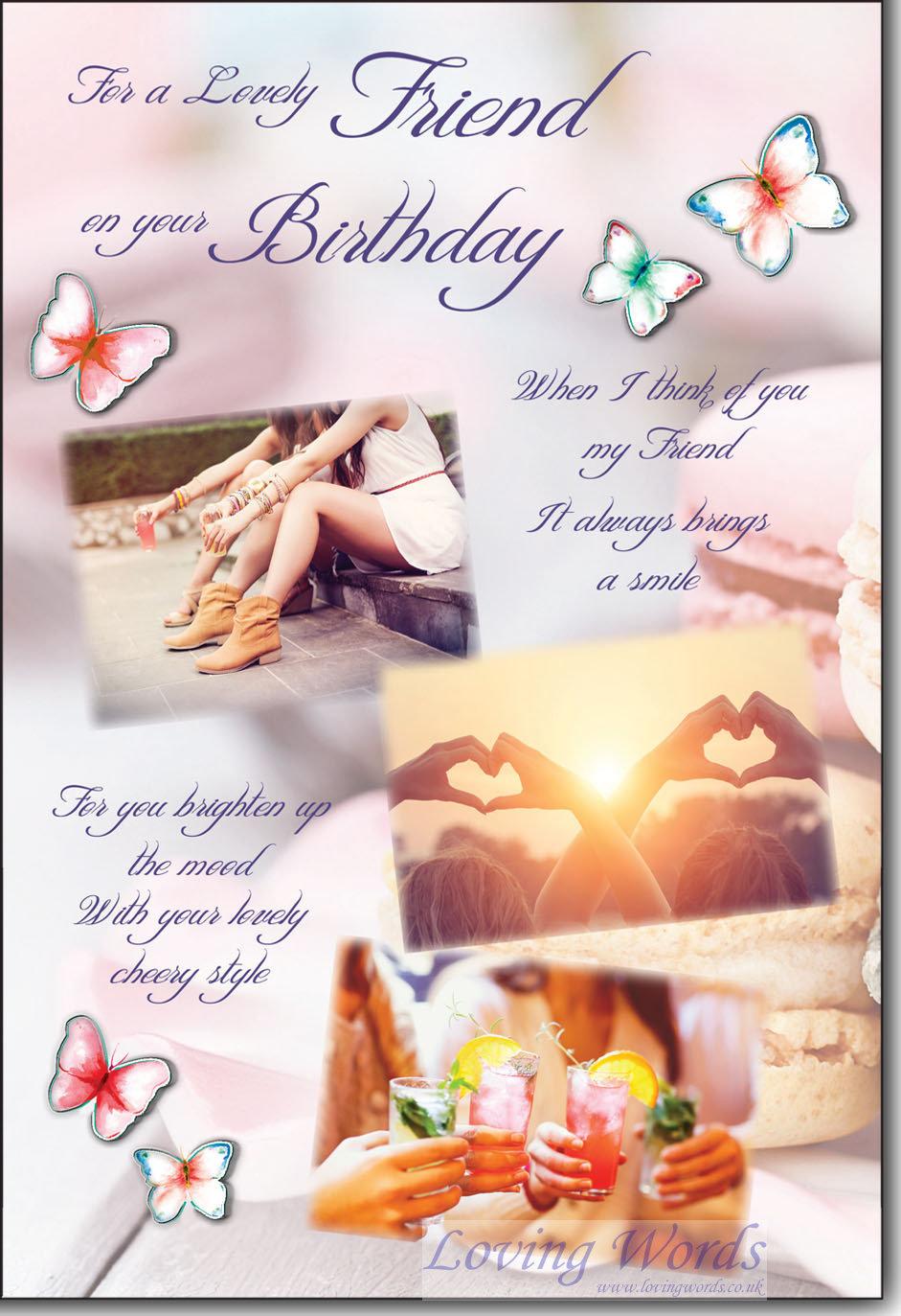Lovely Friend Birthday