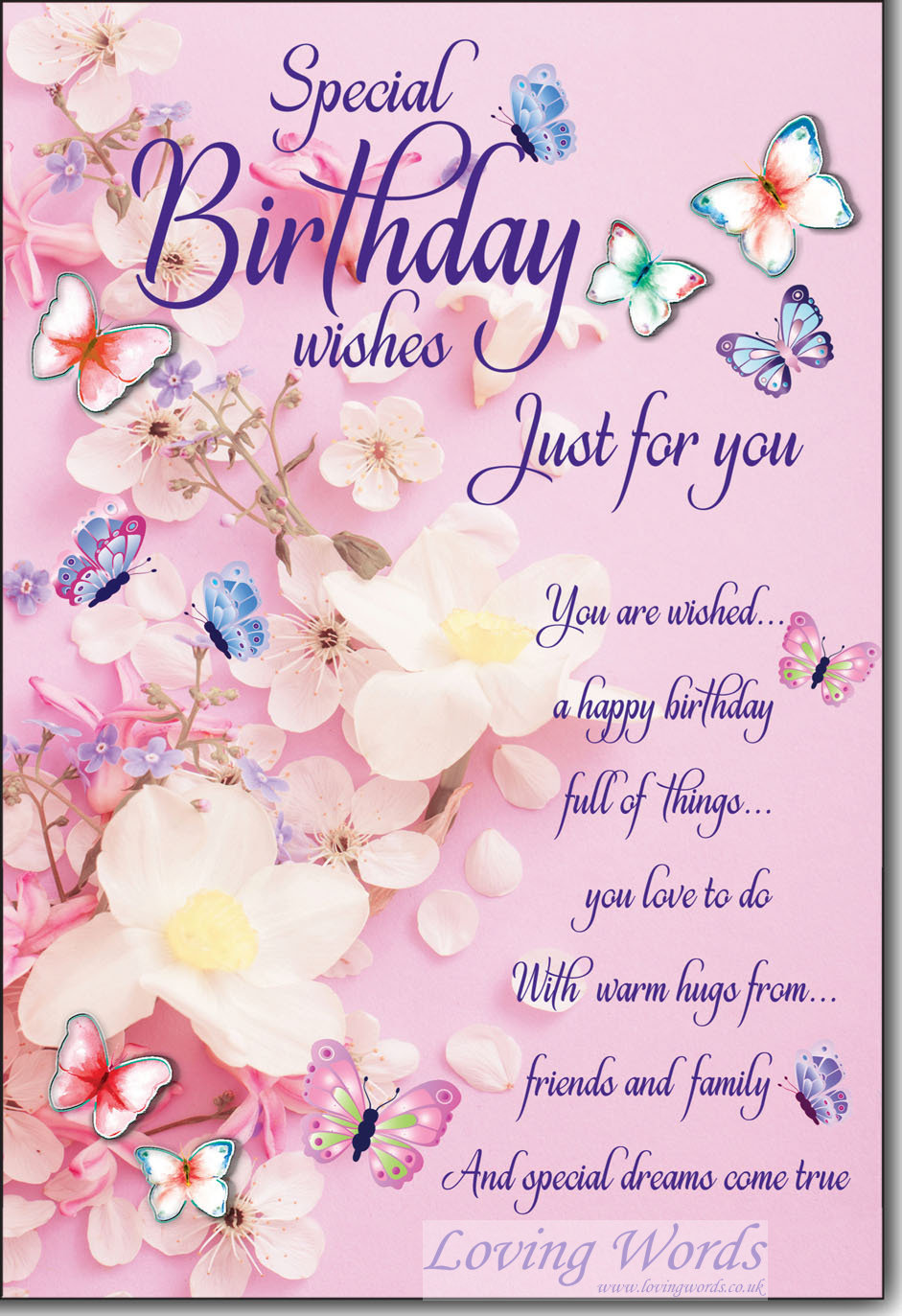 special birthday wishes  greeting cardsloving words